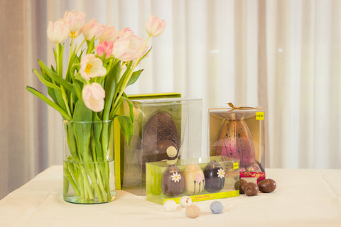 selection of Easter treats