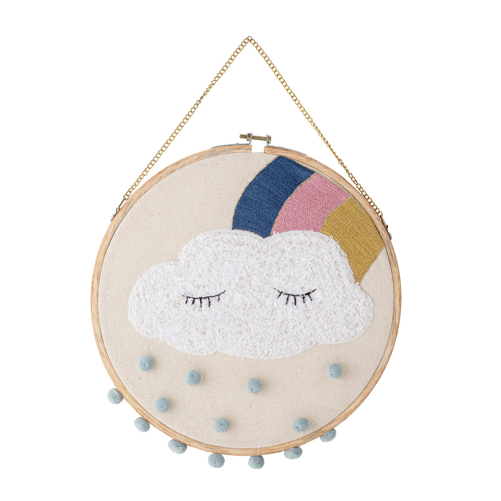 Sleepy Cloud Hanging Decor, on the other side of the clouds is a bright blue sky !