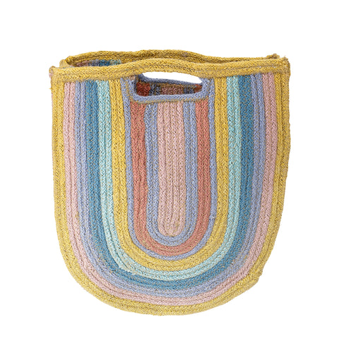 Multi-Colour Jute Bag