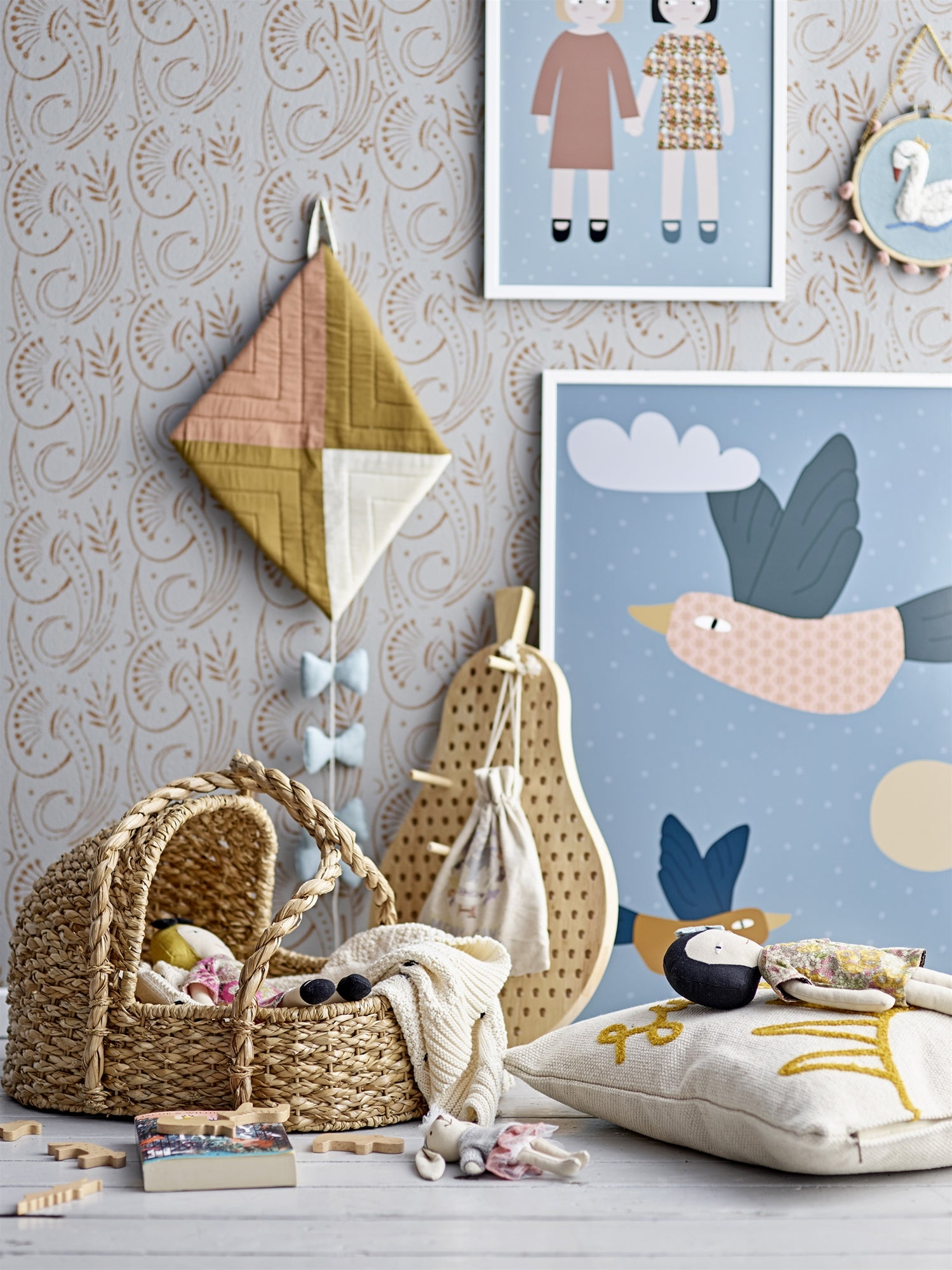 Birds in the Sky Poster With Frame, with brave wings she flys !