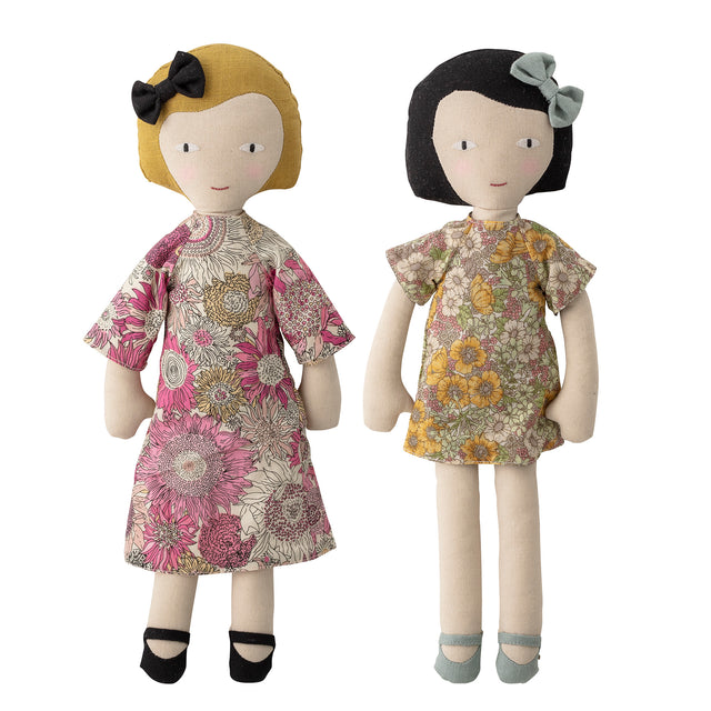 Soft Toy Doll Sisters