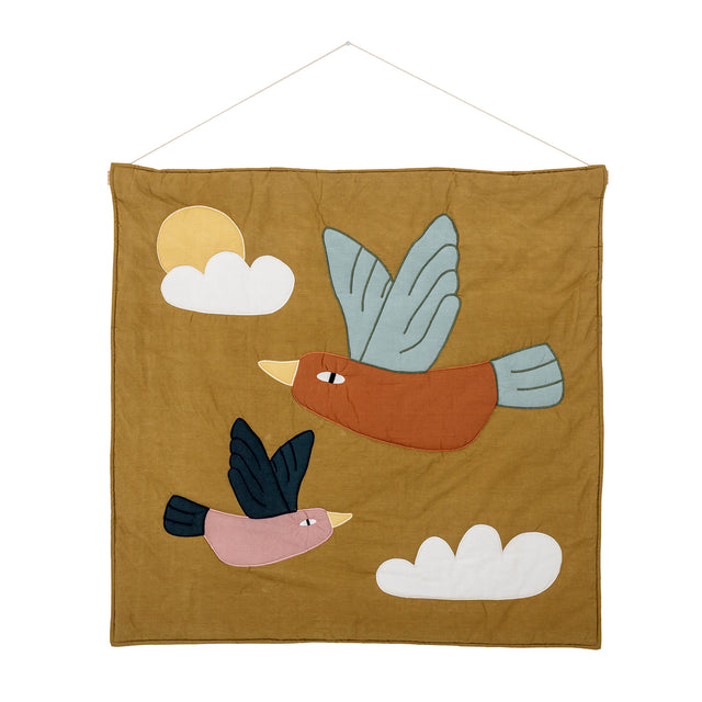 Seagull Brown Cotton Kids Wall Decor