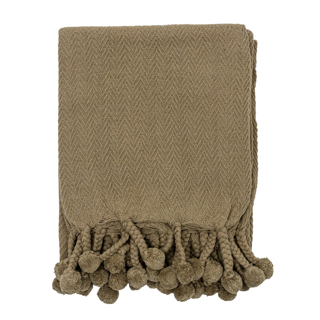 Cotton Throw ~ Sage