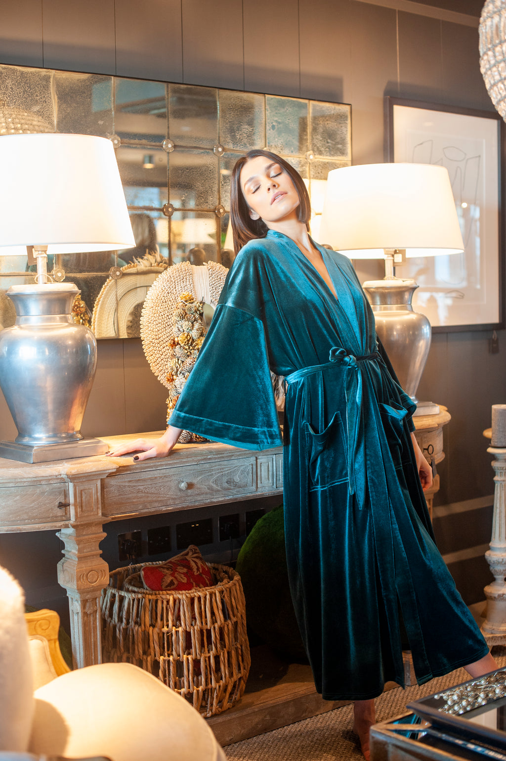 The Imperial~Verde Robe