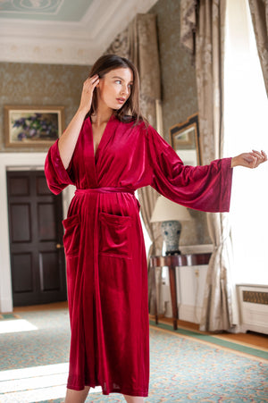 The Imperial ~ Ruby Robe