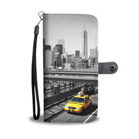 New York Yellow Taxi phone wallet