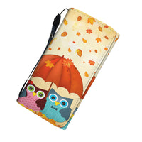 Autumn and Owns  Women's Clutch Purse Wallet