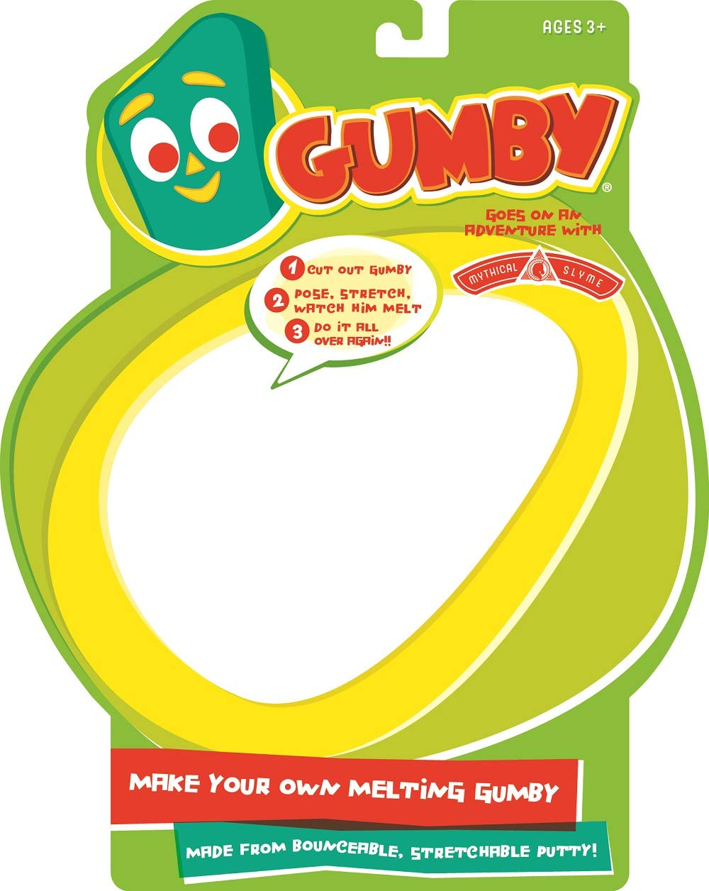 Make Your Own Melting Gumby