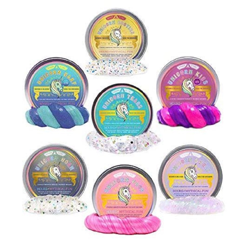 Unicorn Tears, Sweat, Poop, Kiss, Horn, Barf and Cooties (Small) - 7 Color Set