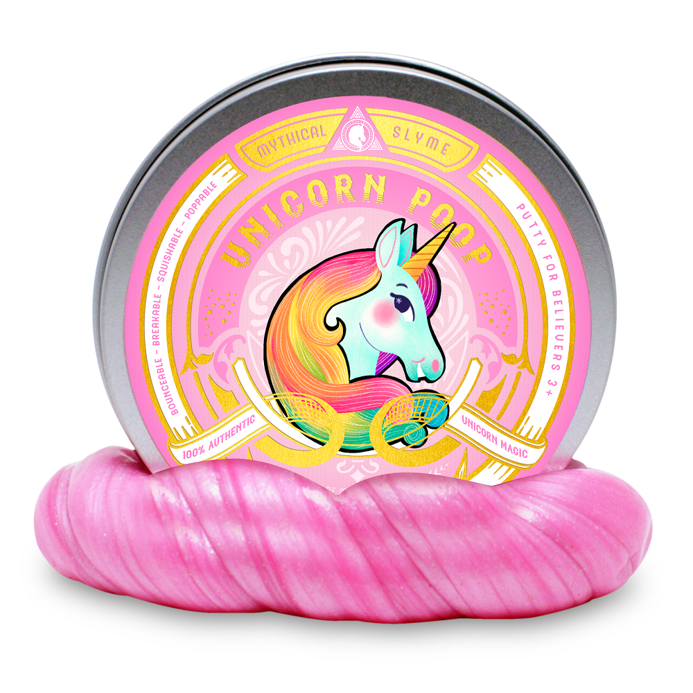 Unicorn Kiss, Tears and Poop (Large) - 3 Color Set