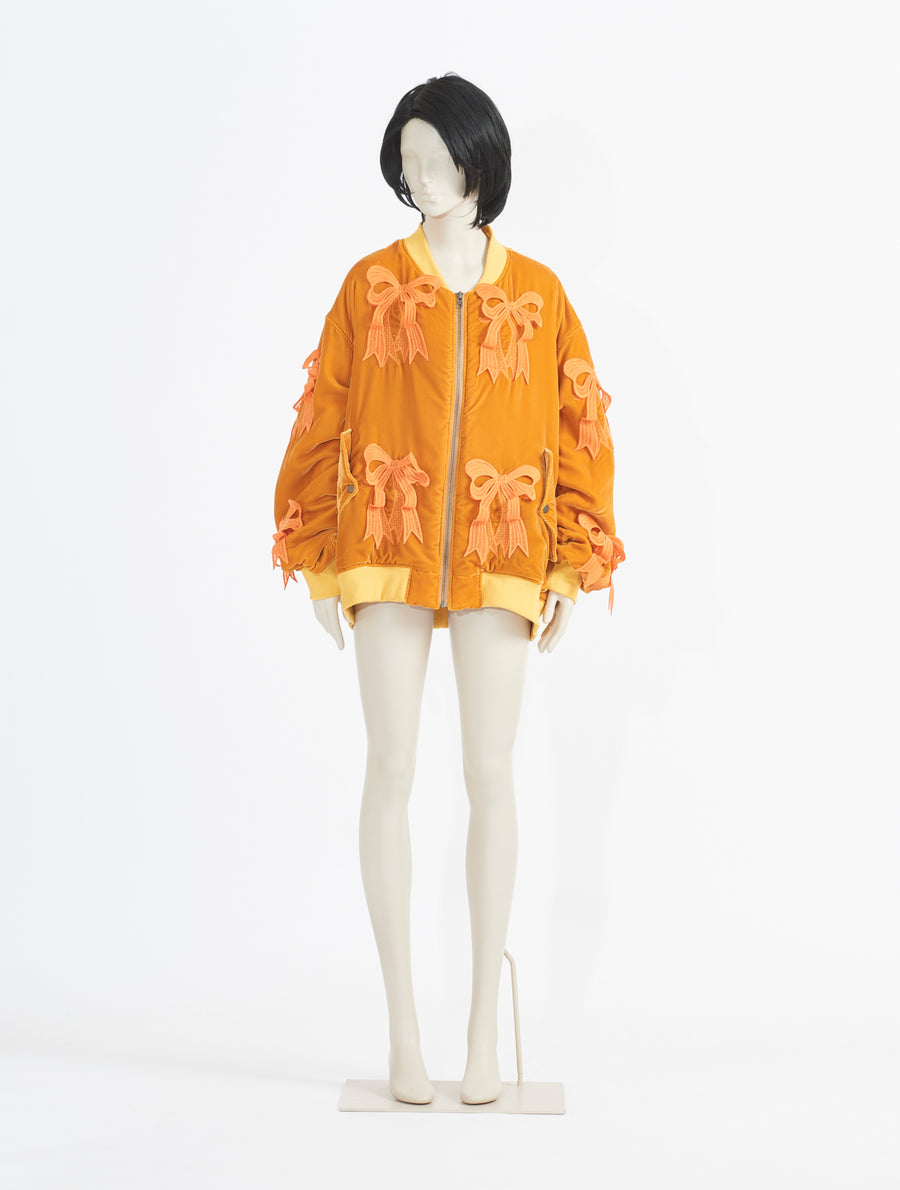 Mikio Sakabe Velvet Yellow Jacket