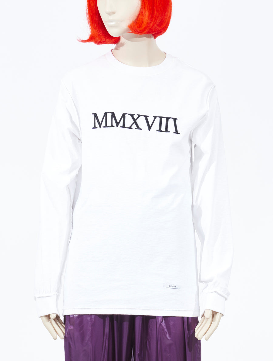 Blouse L'annee MMXVlll Sweater