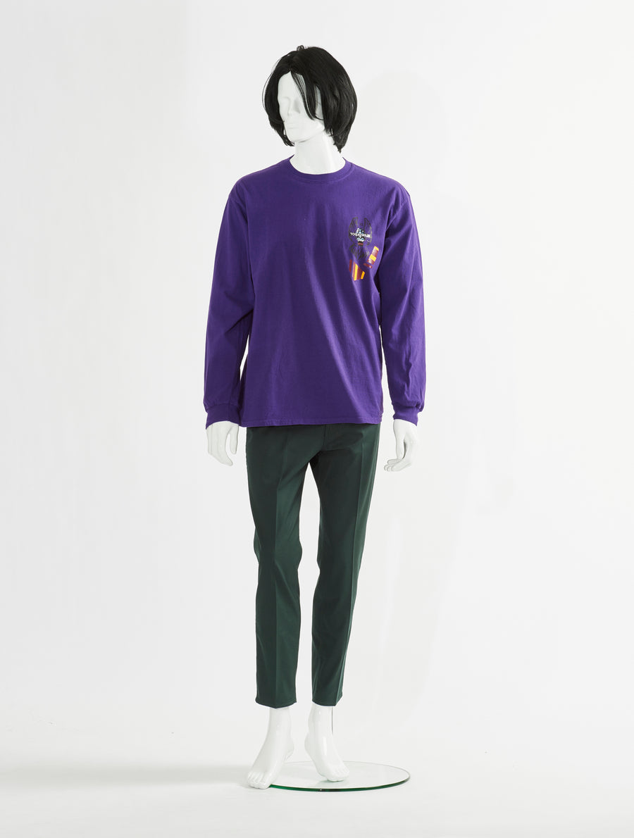 Toga Virilis Print Long Sleeve Purple