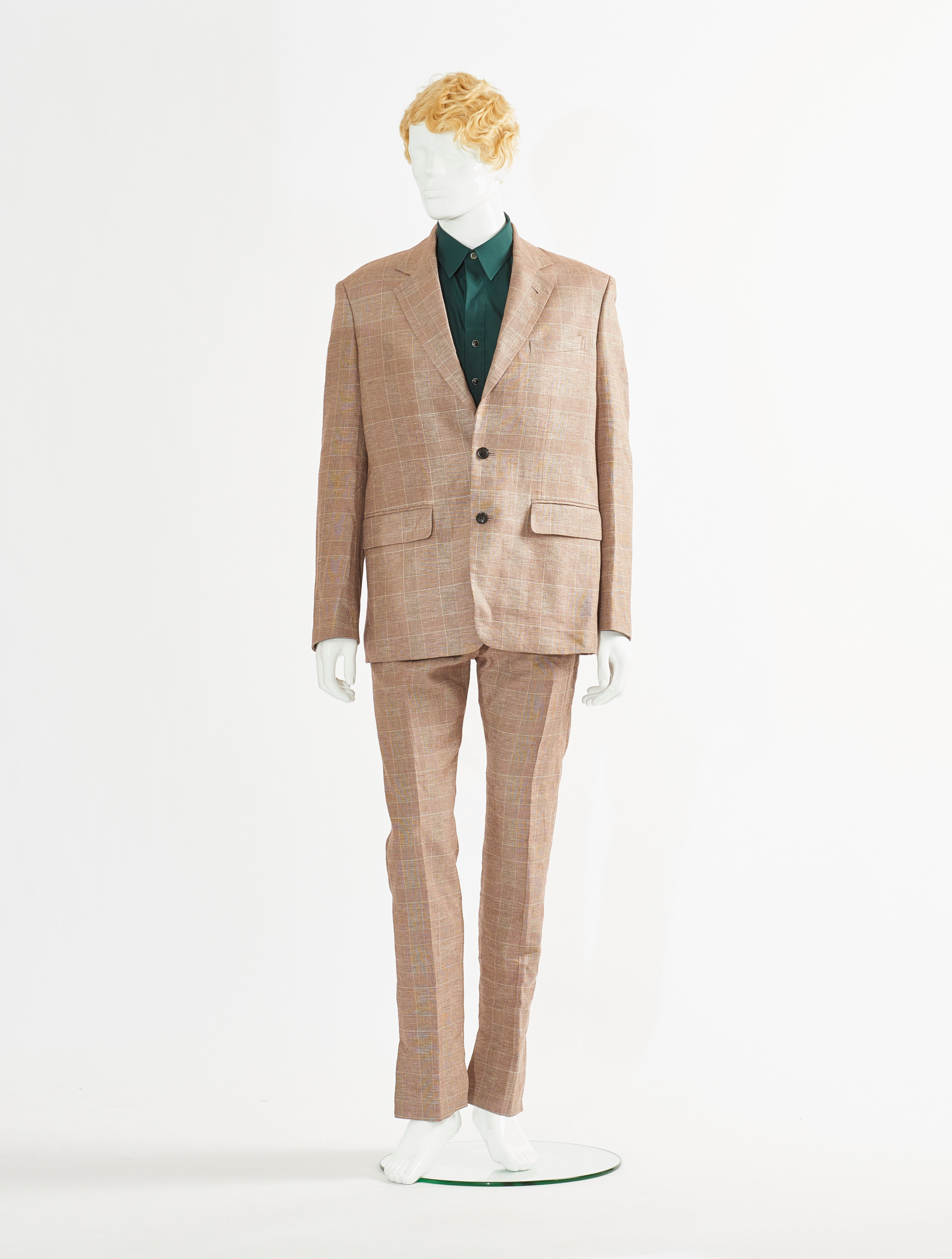 Brown Cotton Linen Jacket