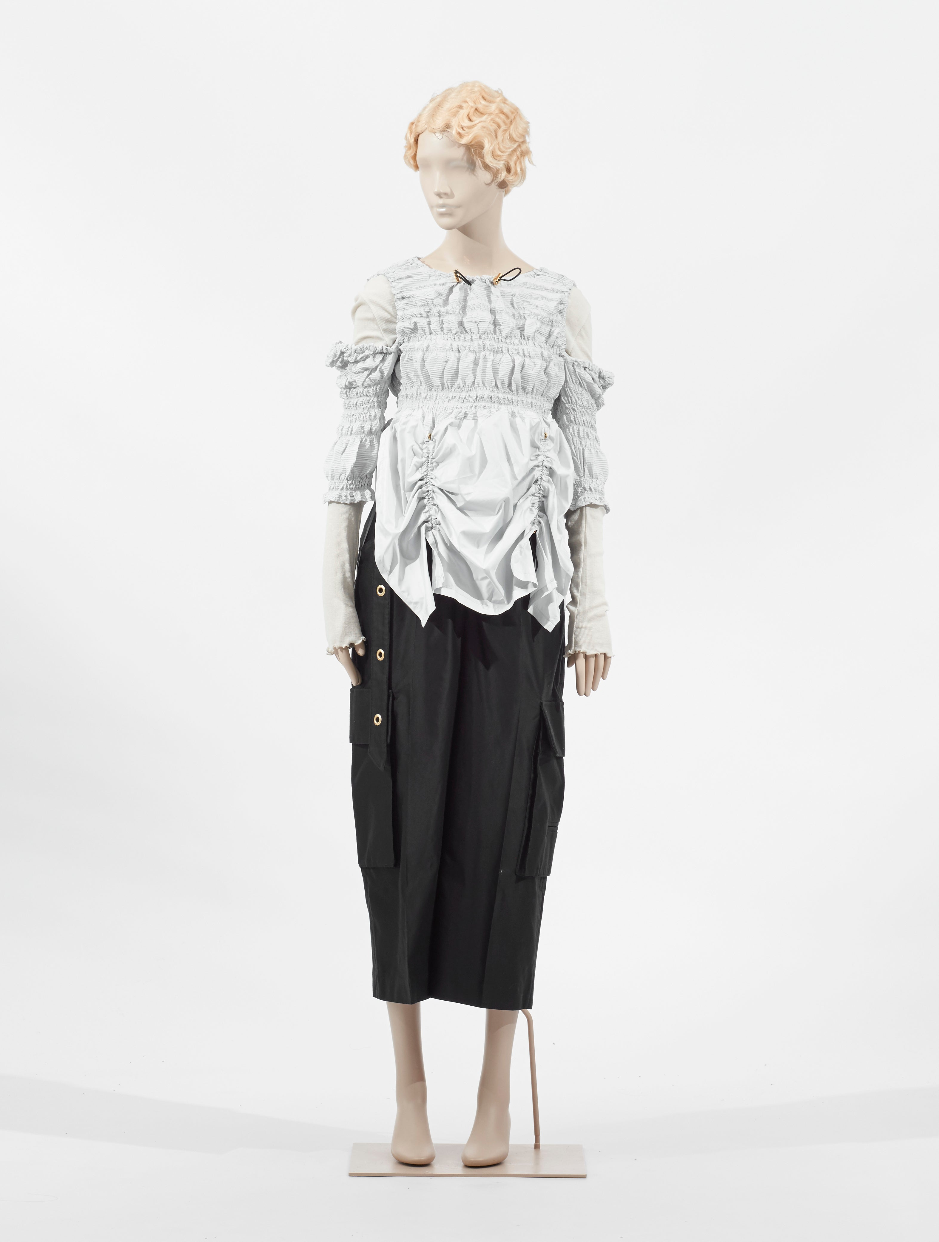 Double Pleated Top