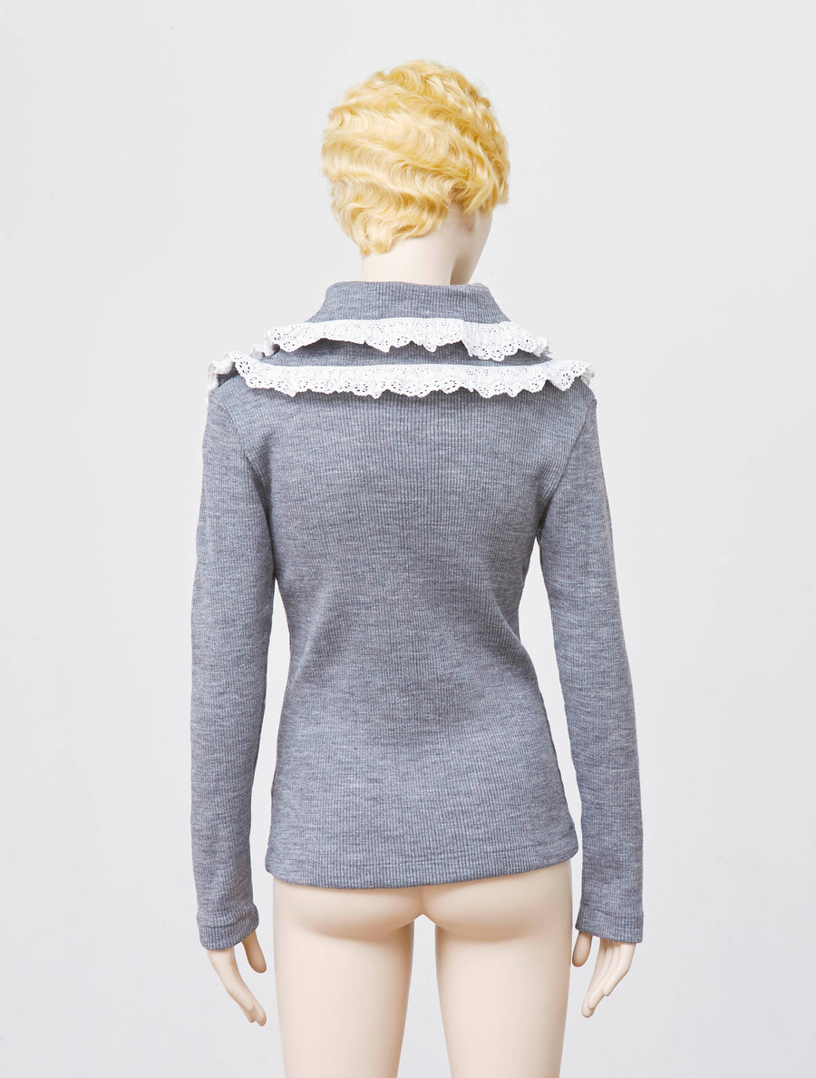 Siiilon Kunama Knitted Top