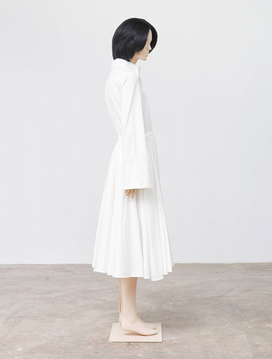 Mikio Sakabe Casual White Dress