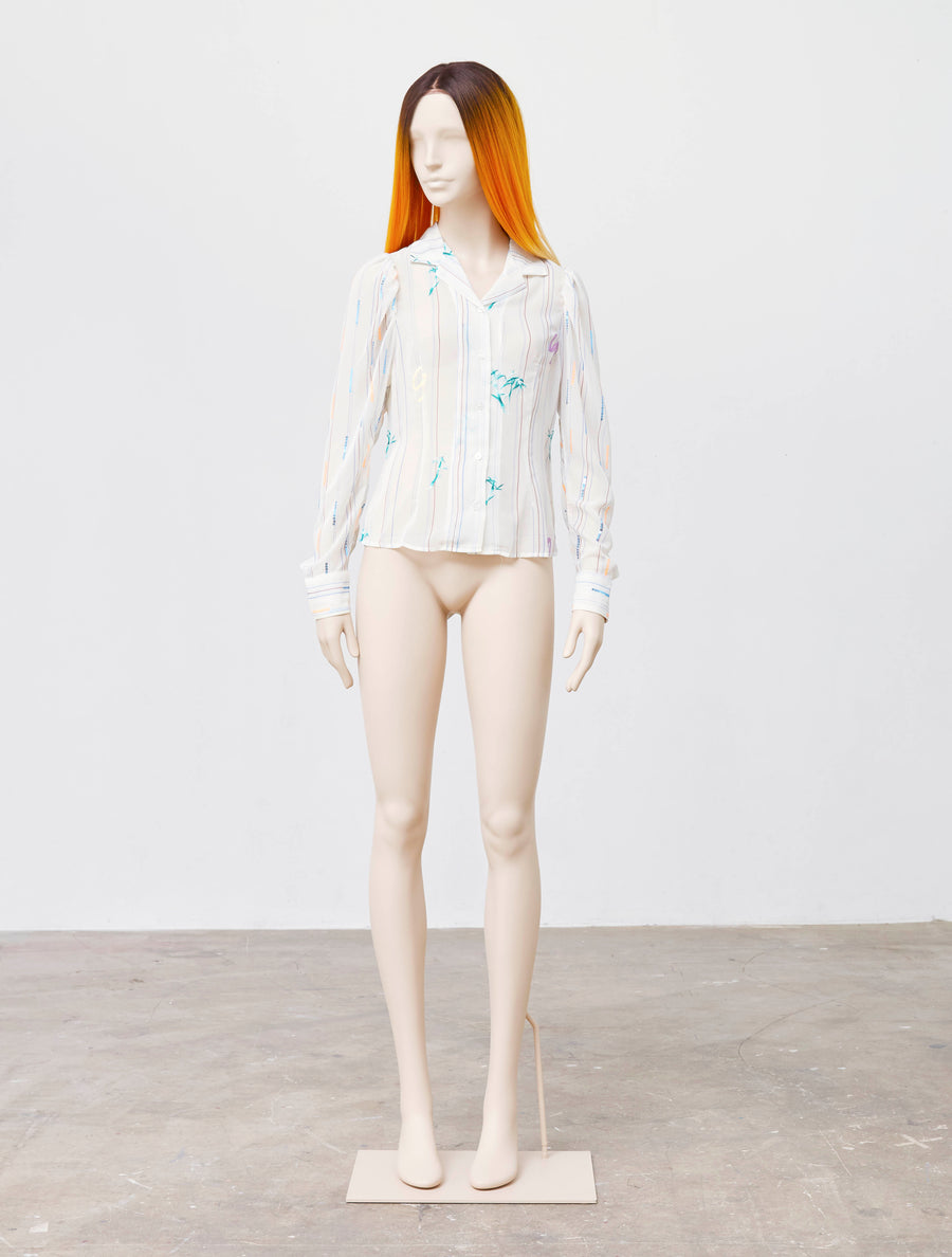 Jenny Fax Sequence Blouse