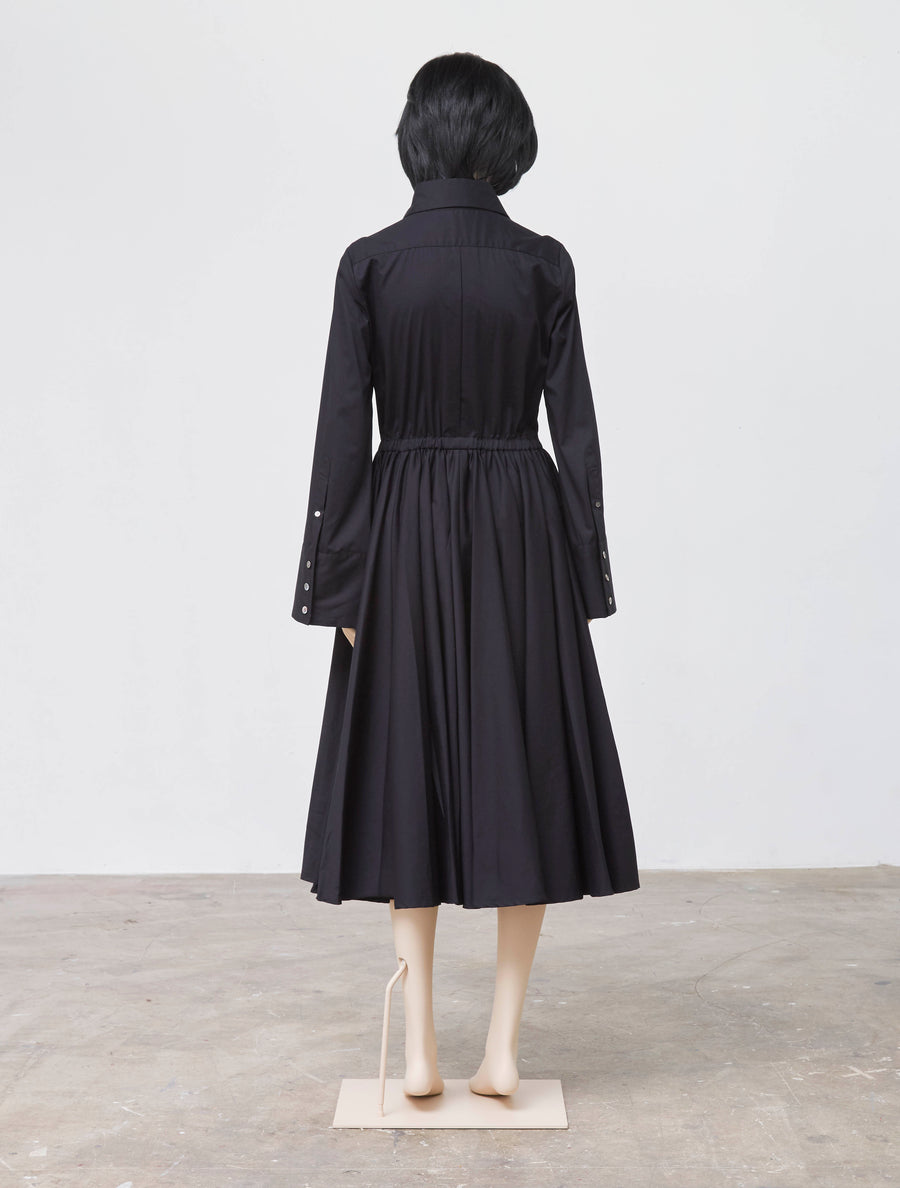 Mikio Sakabe Casual Black Dress