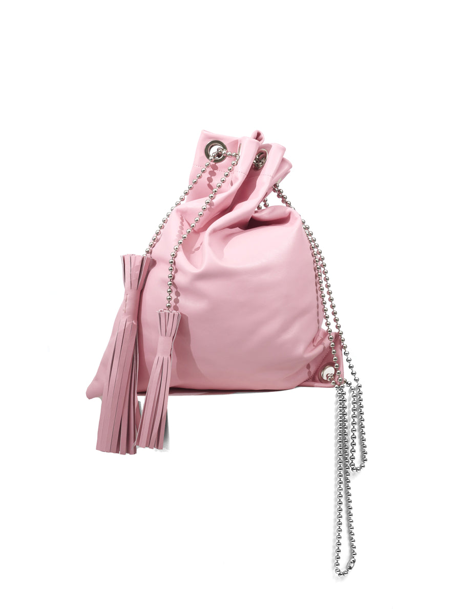 Neith Nyer Pink Leather Bag