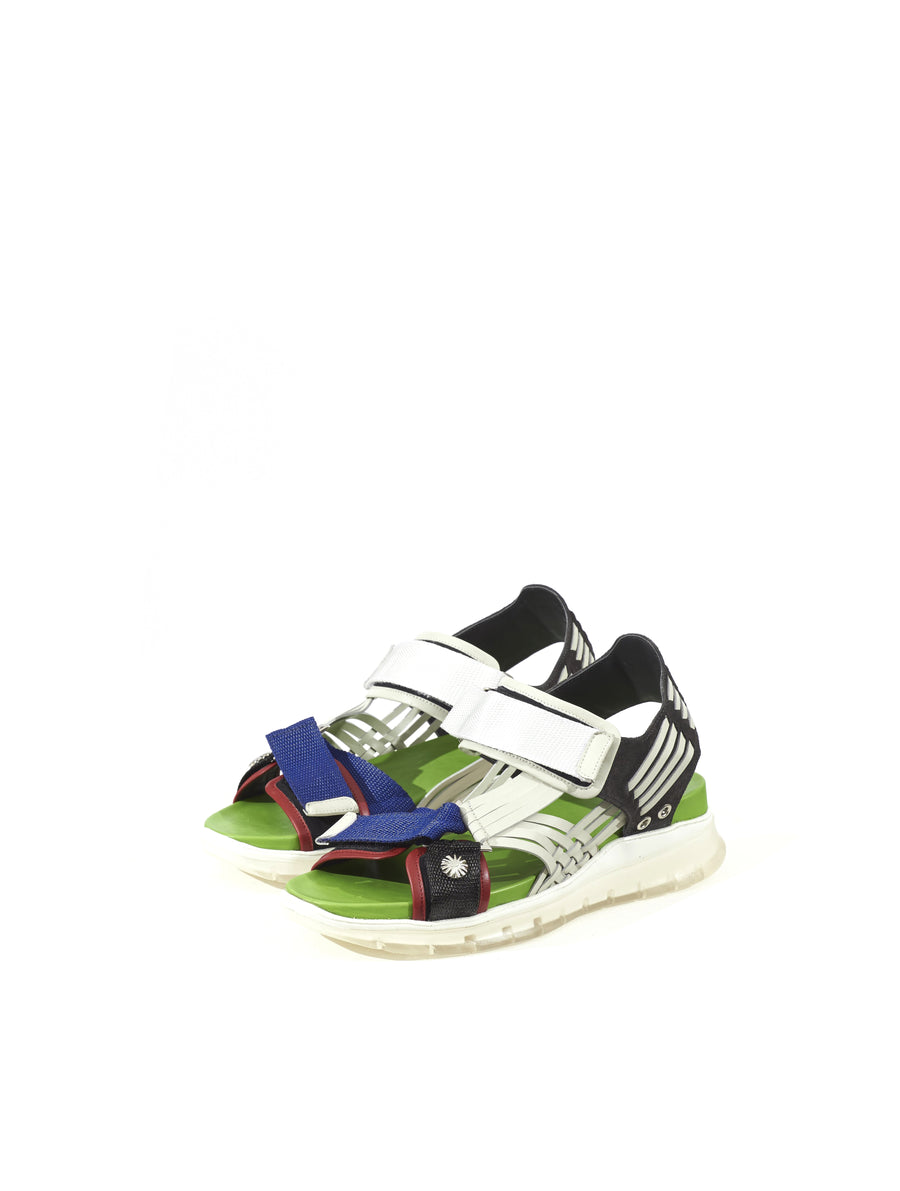 Toga Virilis Light Green Mix Sandal