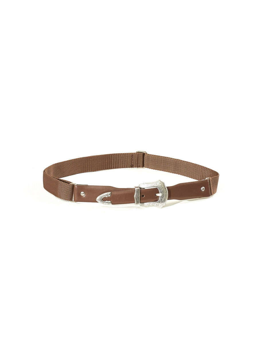 Toga Virilis Brown Leather Belt