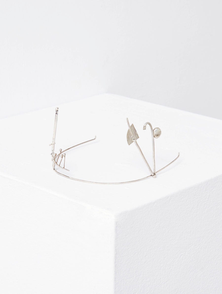 ART SCHOOL X AMY RODRIGUEZ Sterling Silver Euphoria Crown