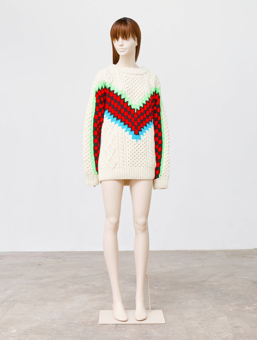 Ashley Williams Check Me Sweater