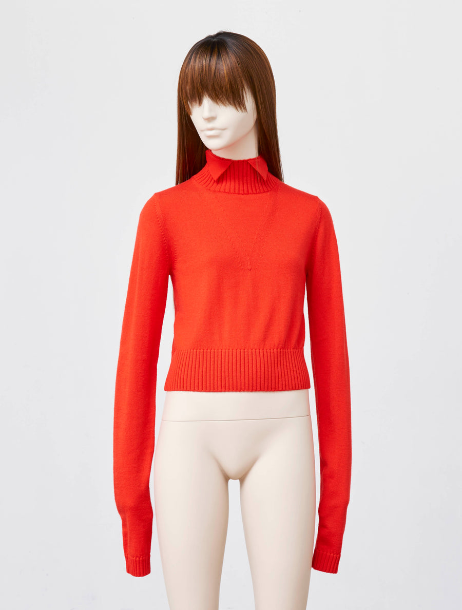 Ashley Williams Red Nora Knit