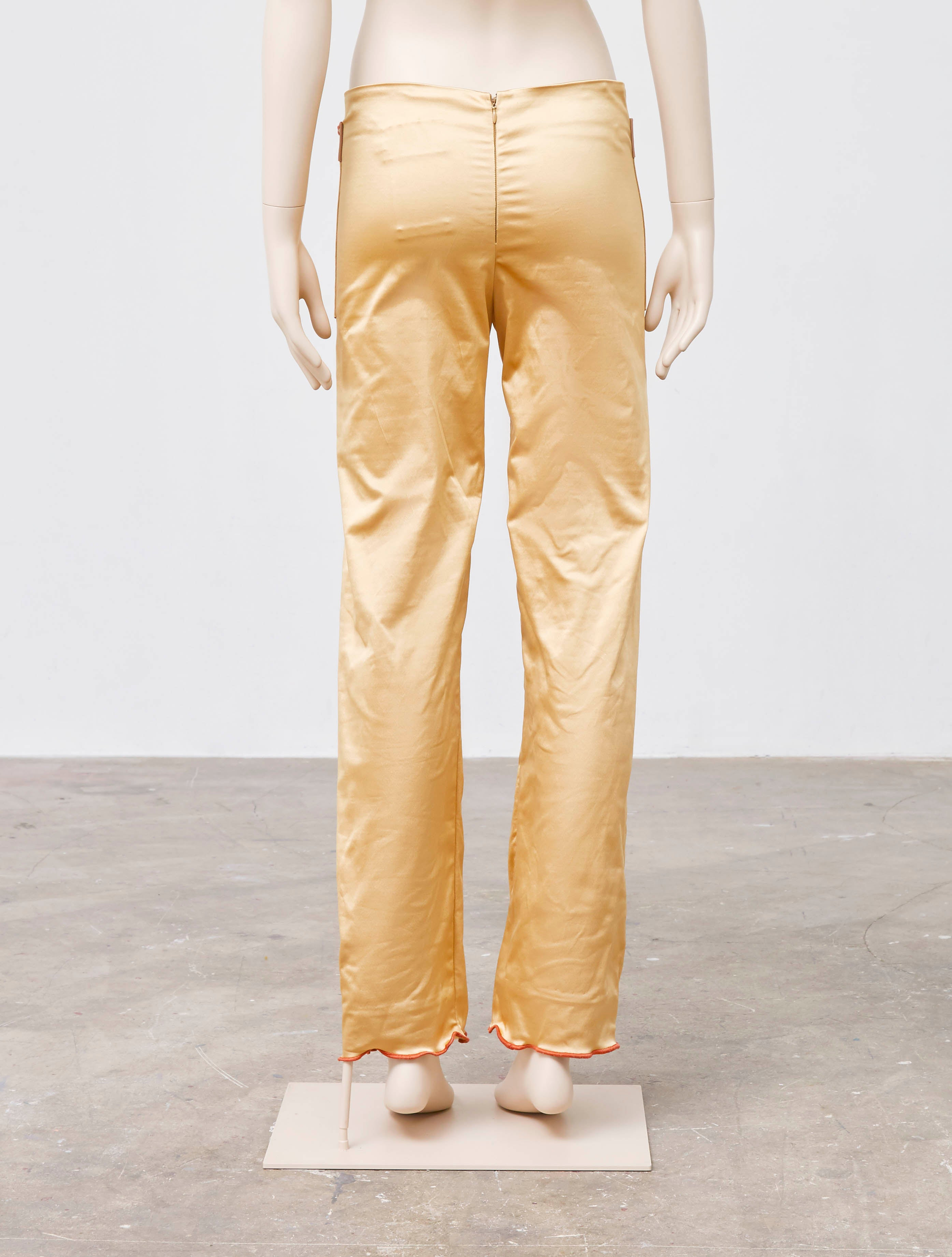 Peet Dullaert Crunched Techno-Wave Trousers