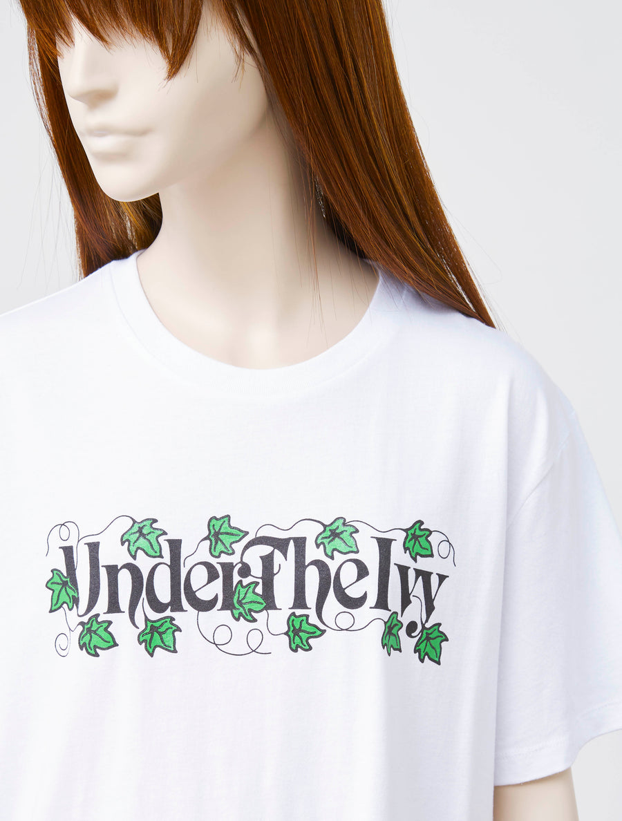 Ashley Williams White Ivy Jersey Tee