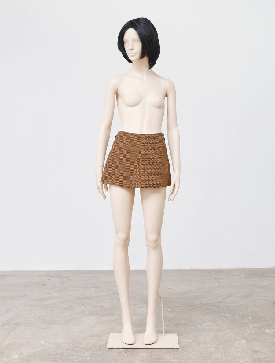 Mikio Sakabe Funny Lady Brown Skirt