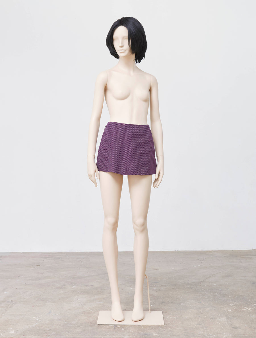 Mikio Sakabe Funny Lady Purple skirt