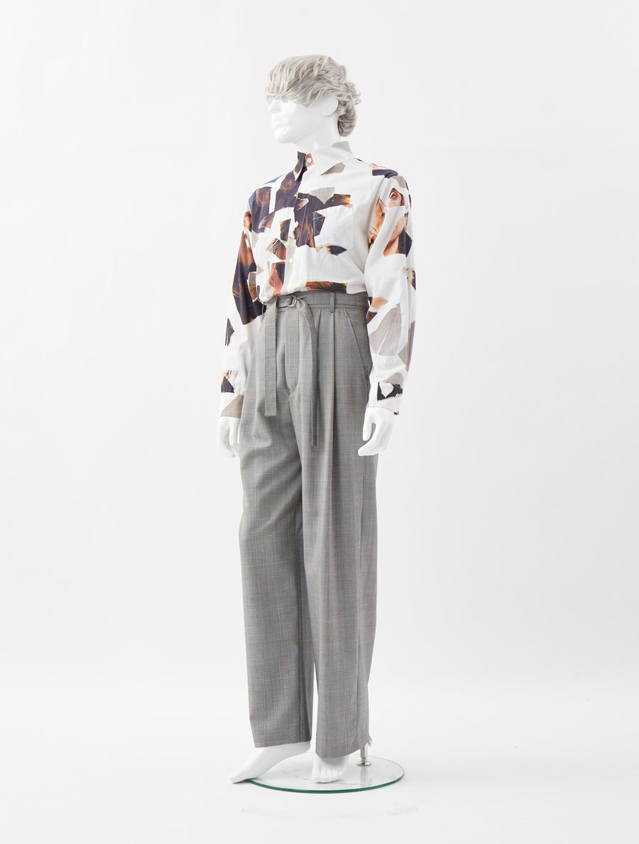 Alex Mullins Wide Leg Suit Trouser