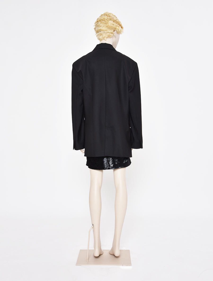 ART SCHOOL Oversized Bias Cut Suit Jacket