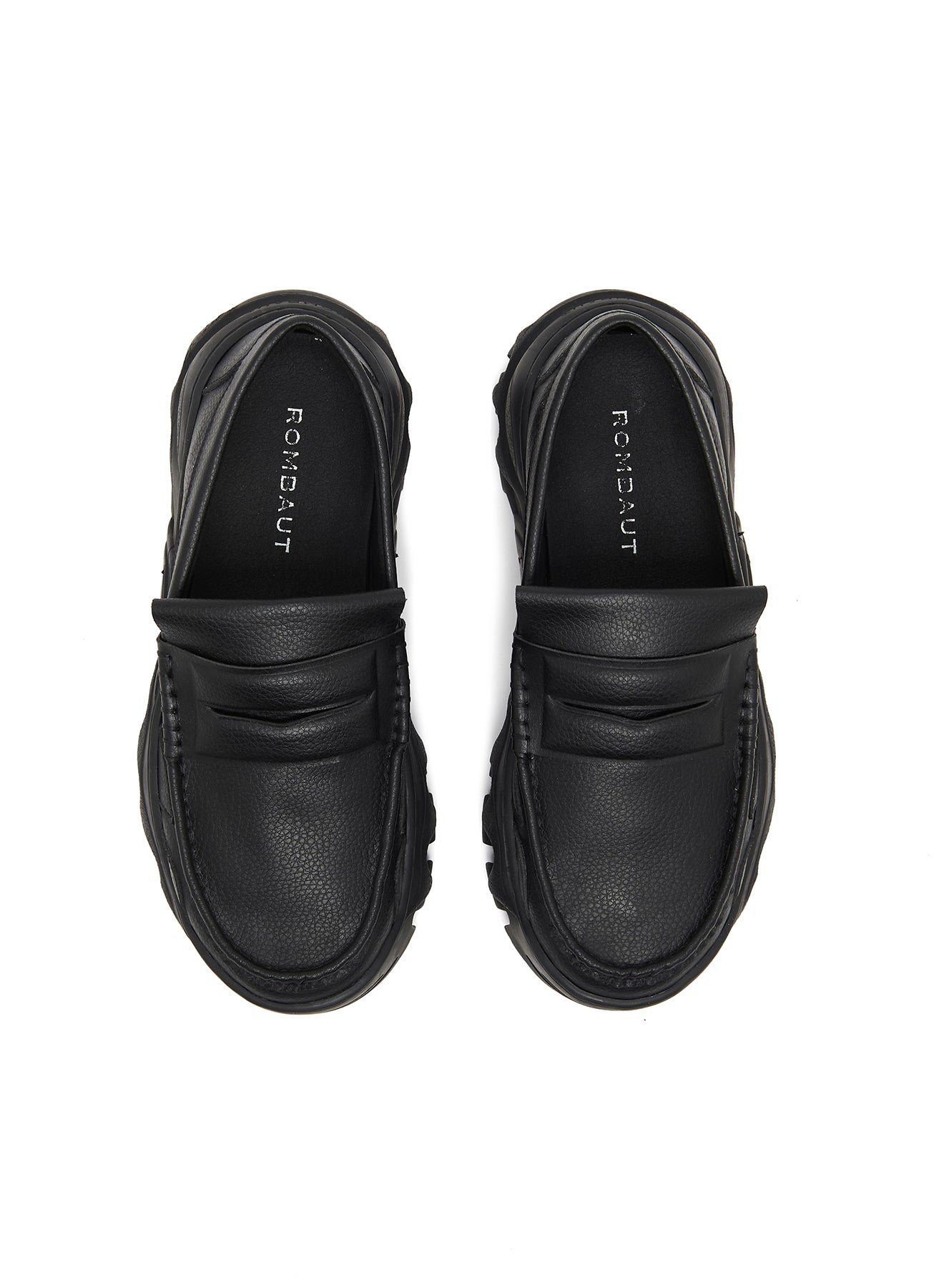 Rombaut Boccaccio ll Padded Loafer Dry Apple Leather Black