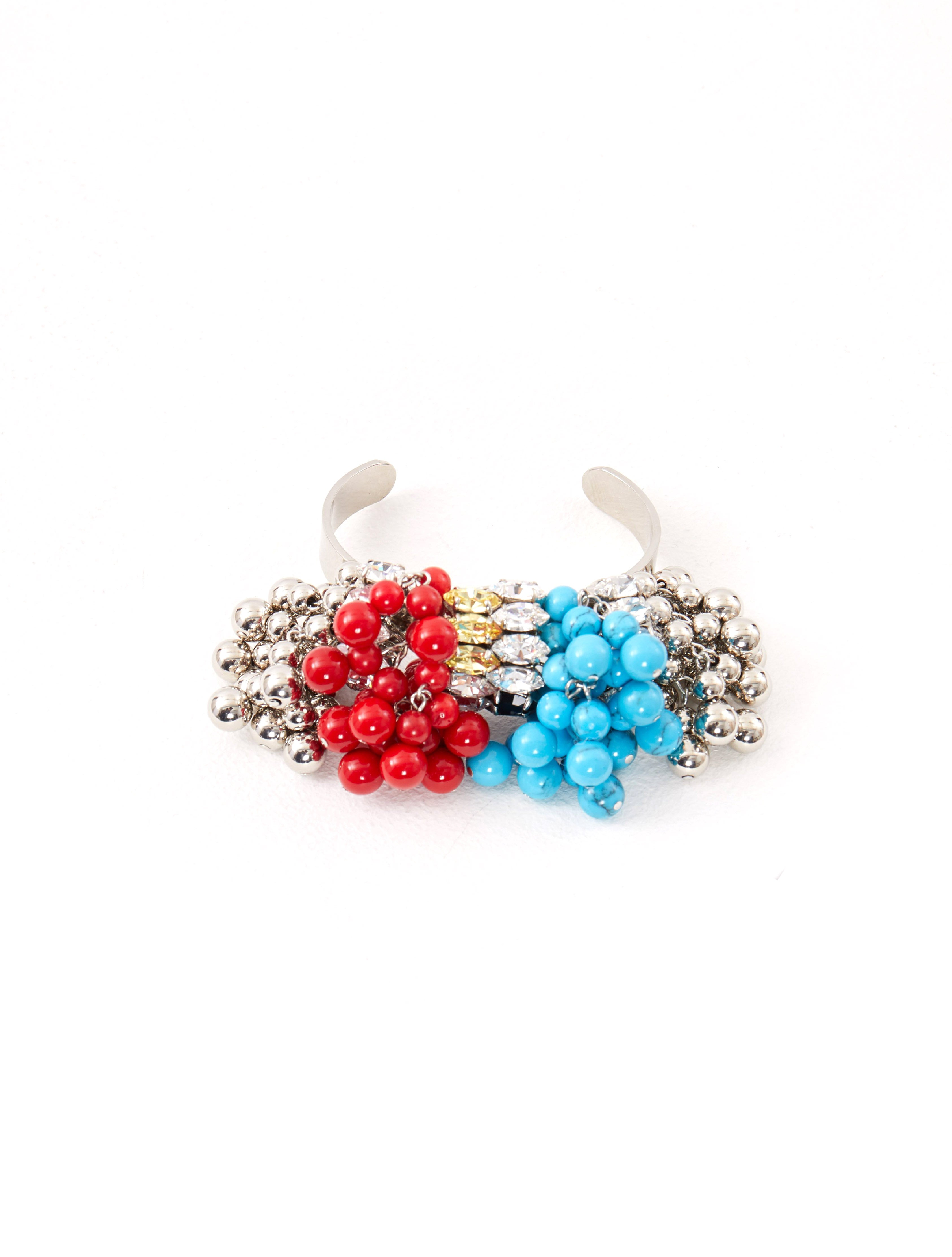 Toga Pulla Red Beads Bangle