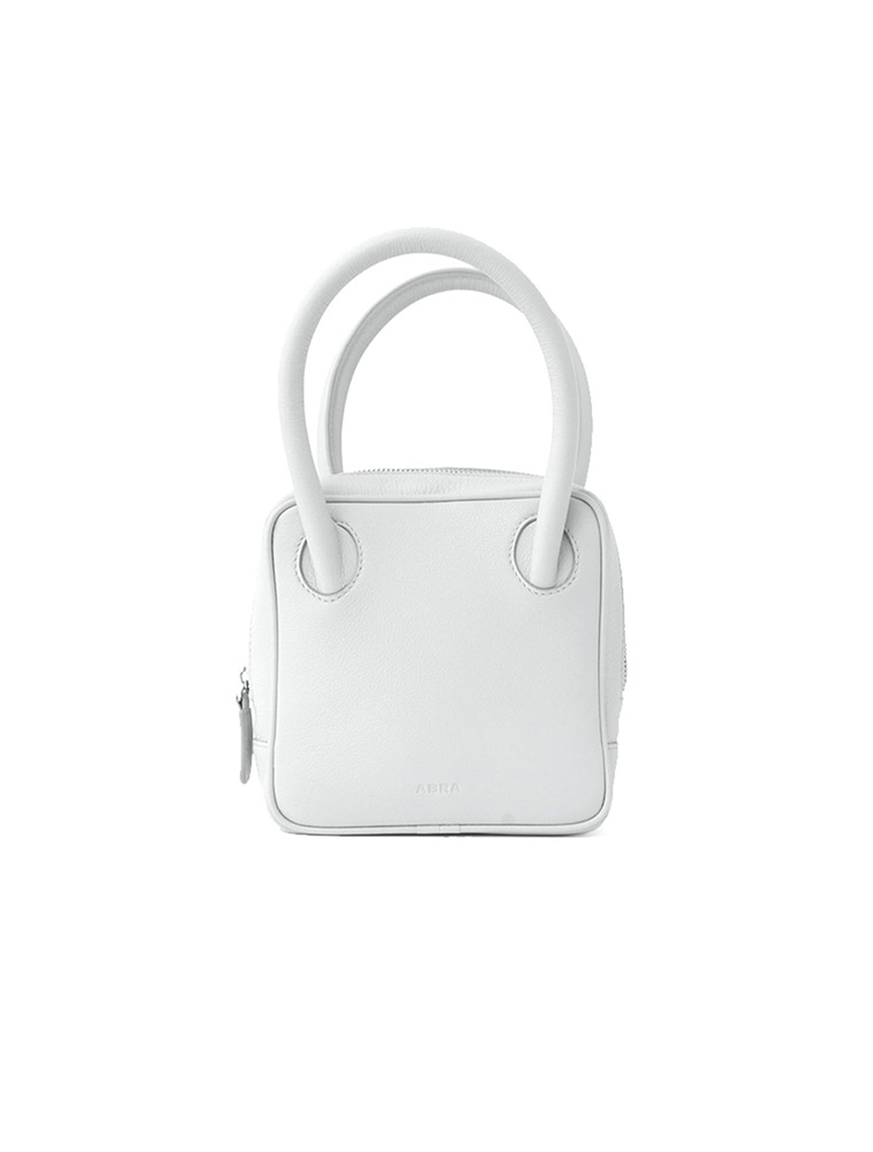 ABRA White Square Bag