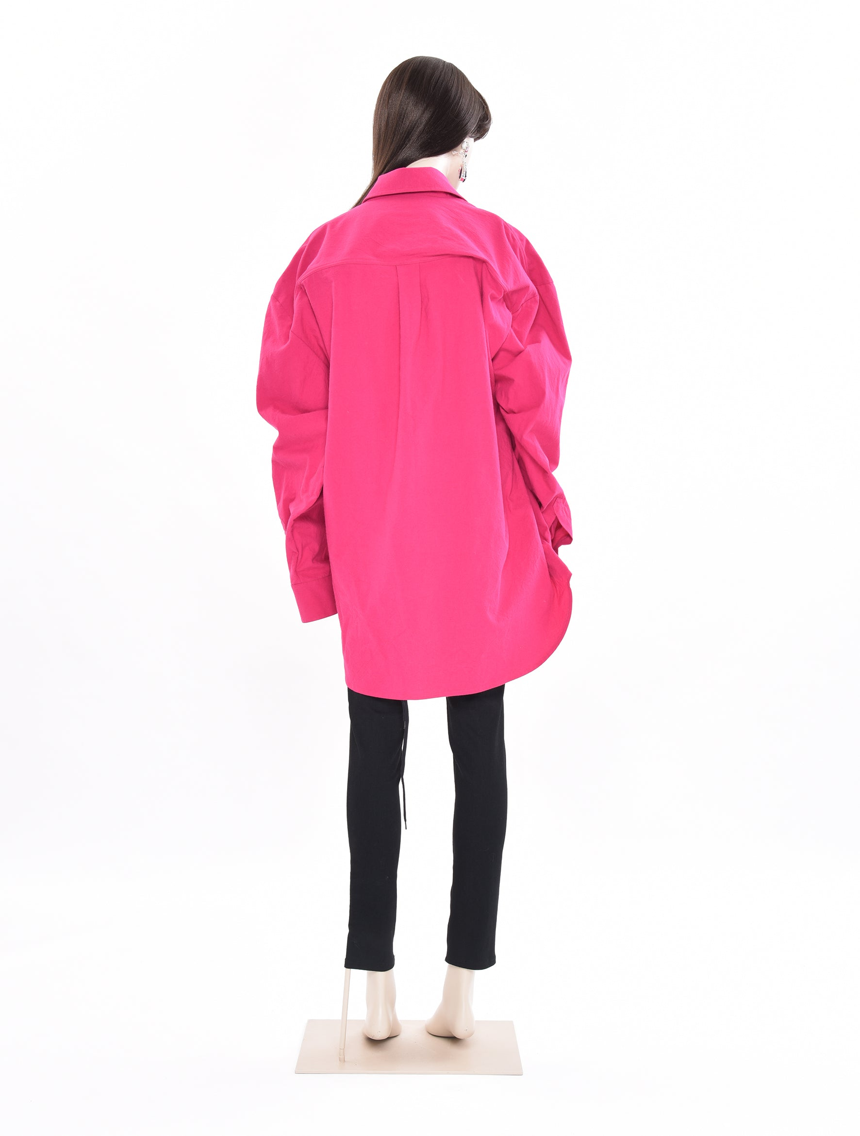 Oversized Wire Shirt Pink