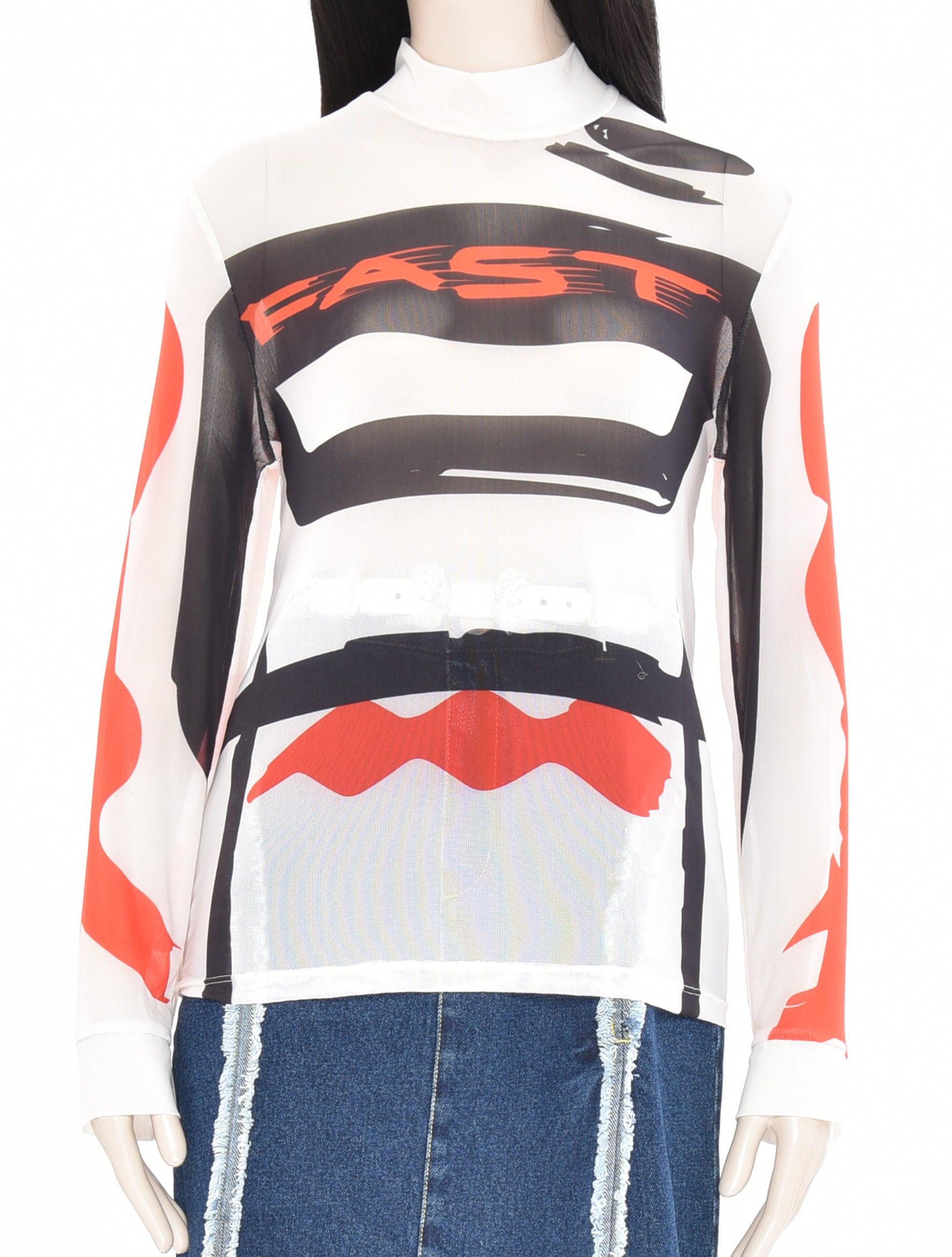 Motocross Power Mesh Top