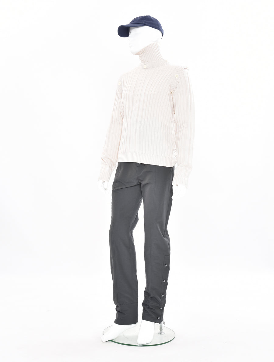 Alex Mullins Turtle Neck Rib Knit