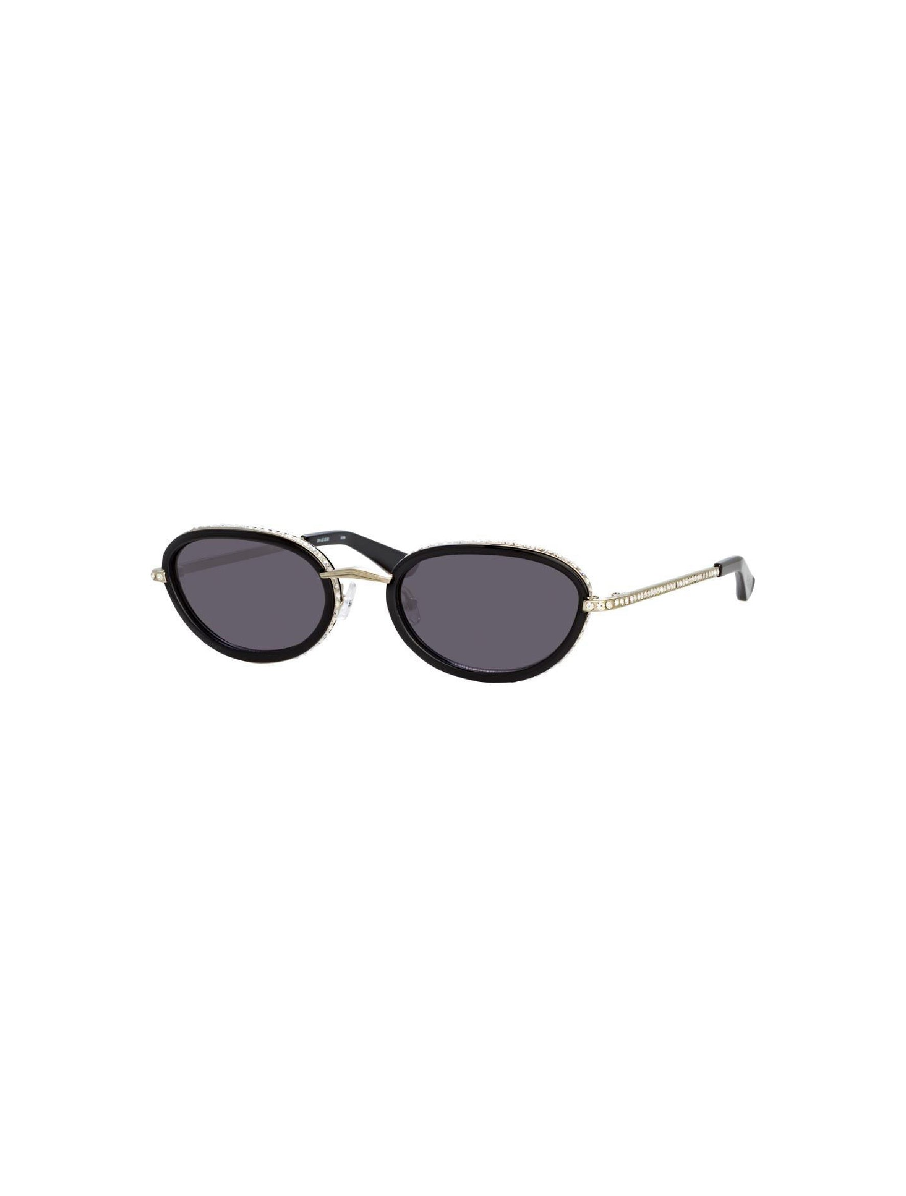 Oval Sunglasses in Silver