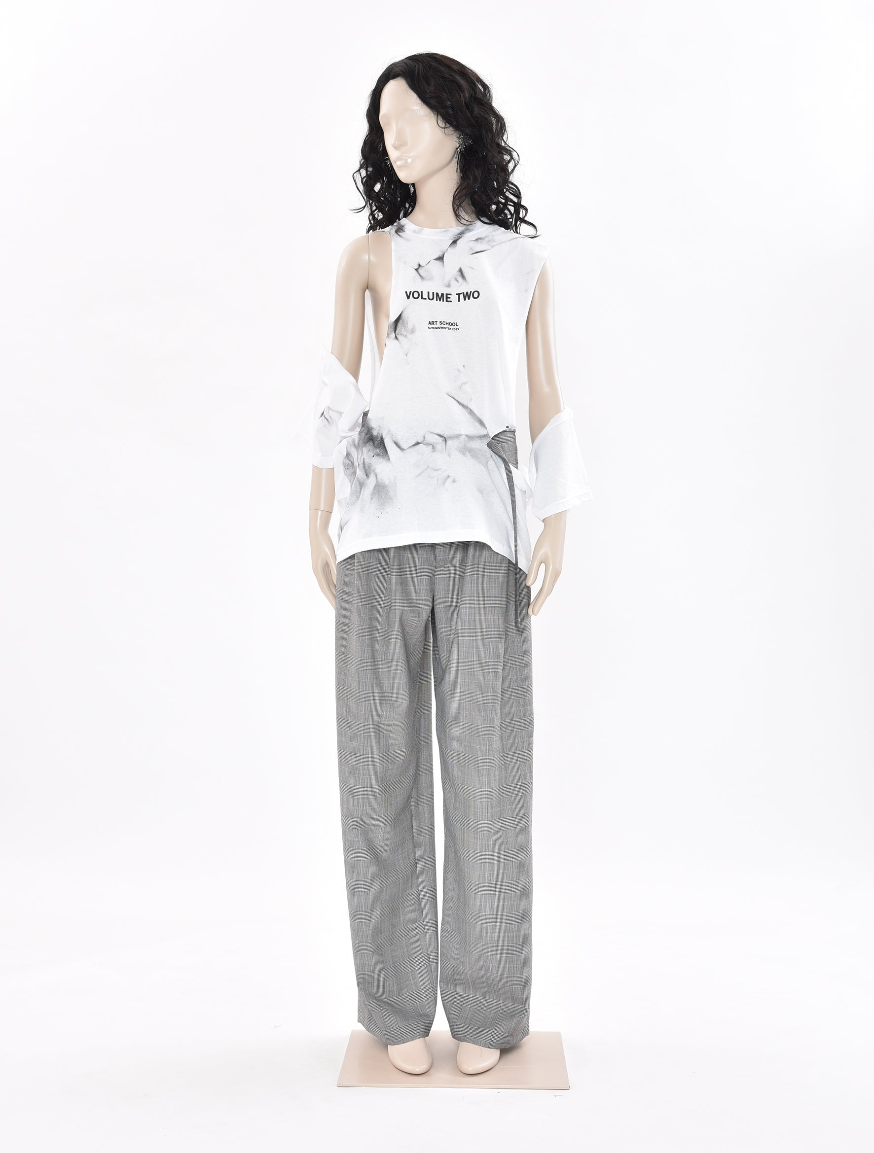 Vol 2 Shredded Cropped T-Shirt