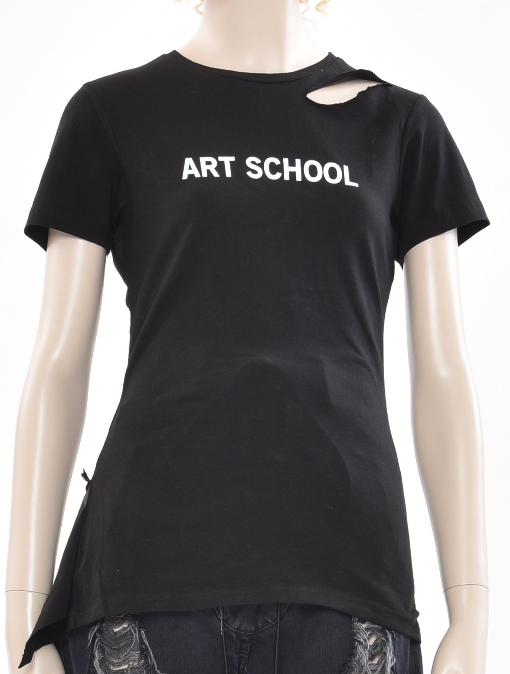 Art School Shredded T-Shirt