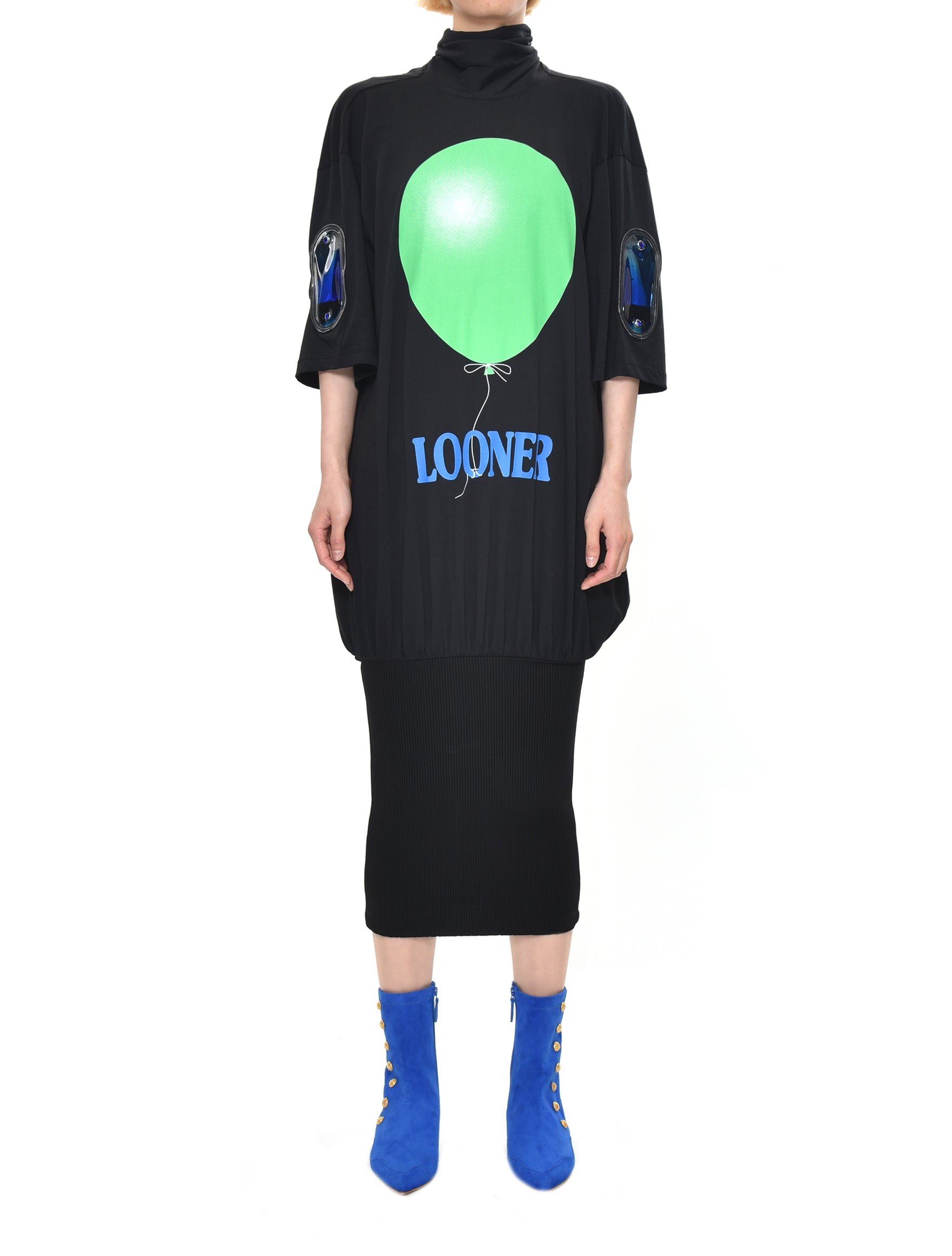Looner Tie Jersey Dress