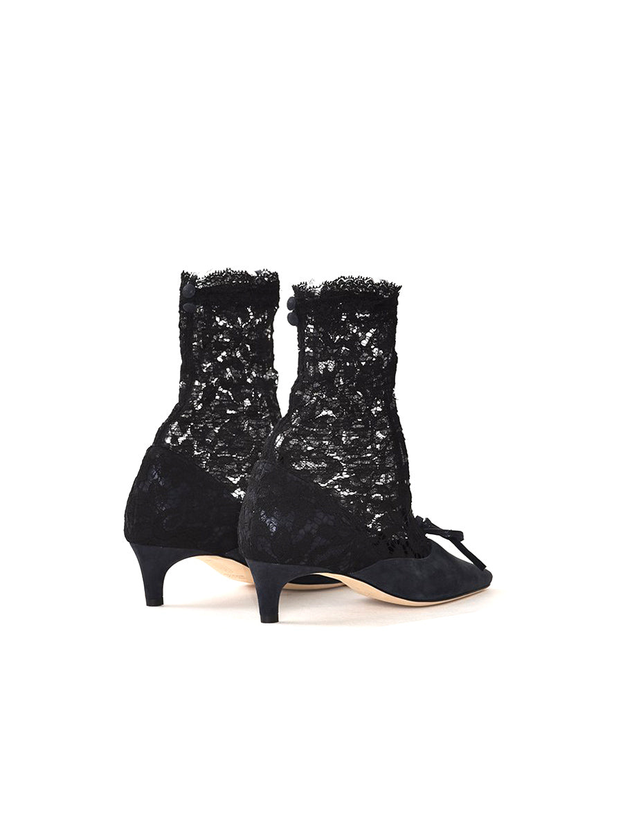 Heist 35 Suede and Lace Ankle Boot