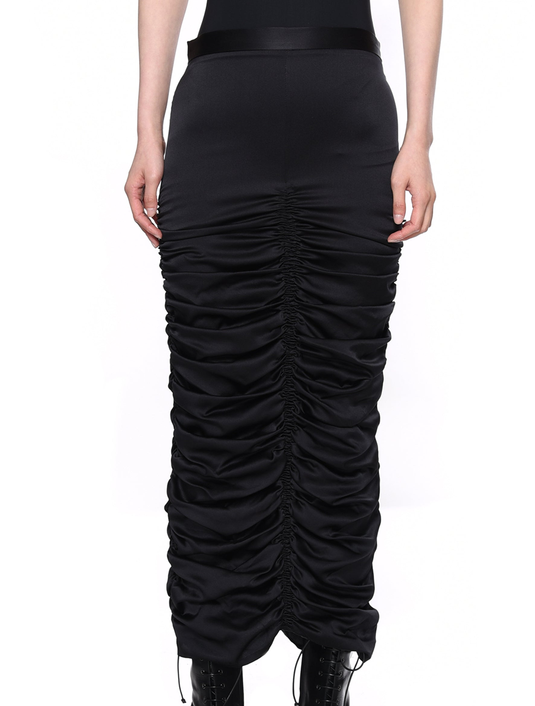 Neith Nyer Judgment Silk Pensil Skirt