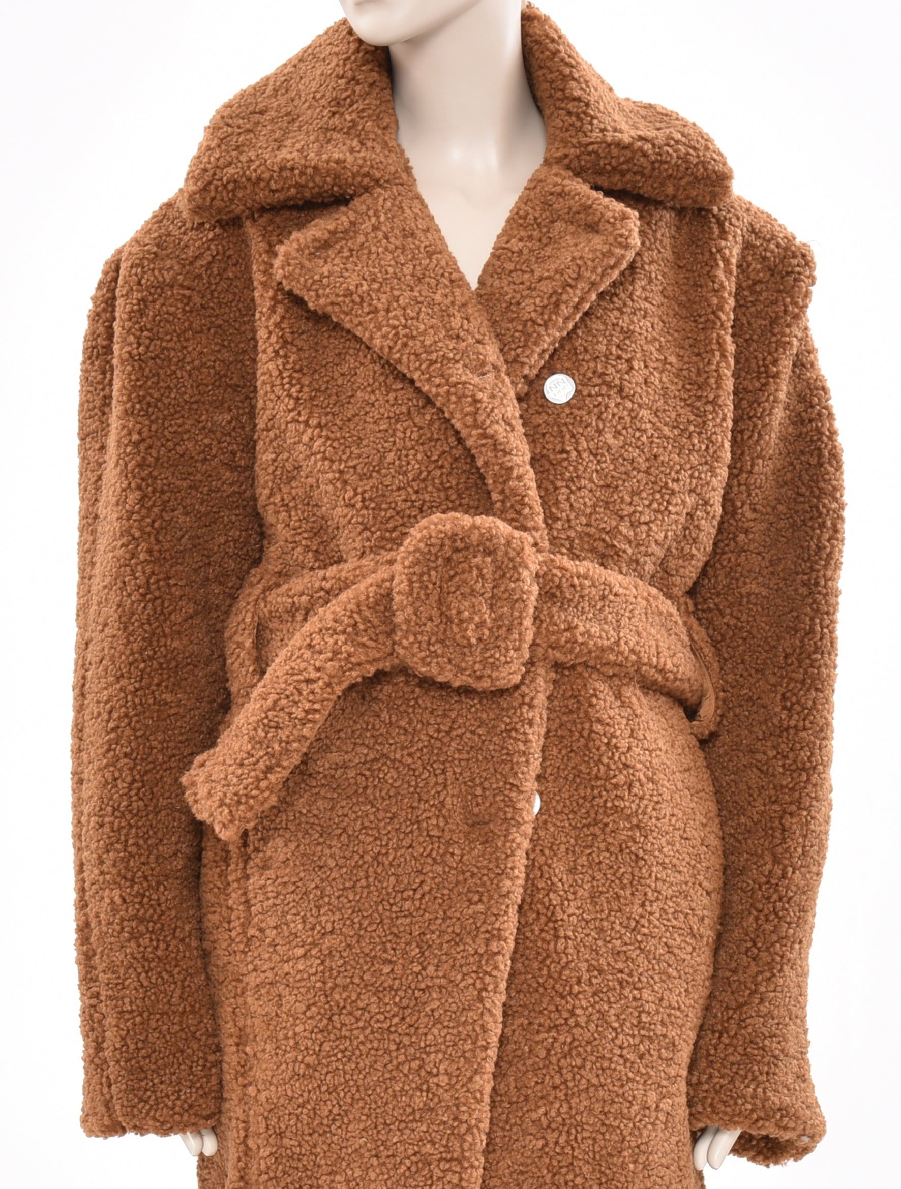 x DDP Brown Wool Coat