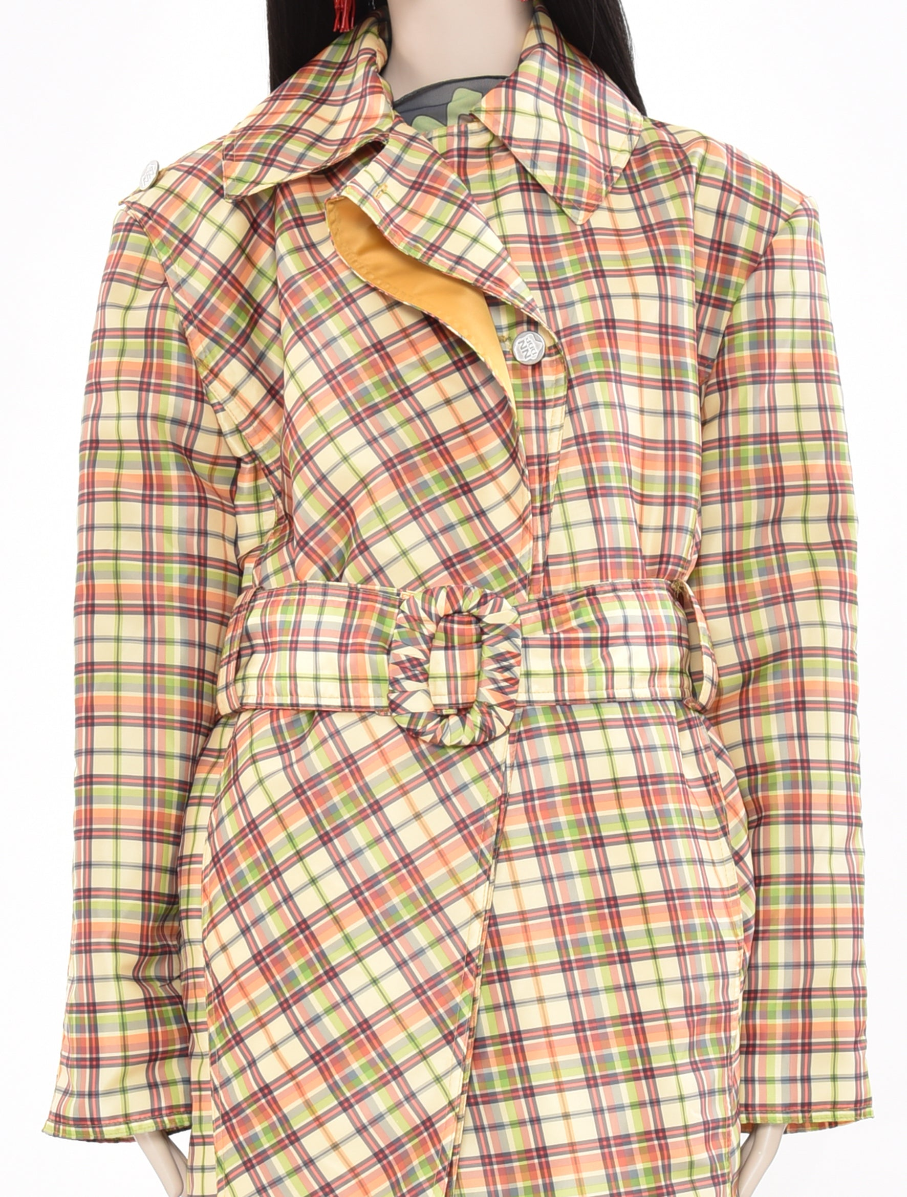 x DDP Check Coat
