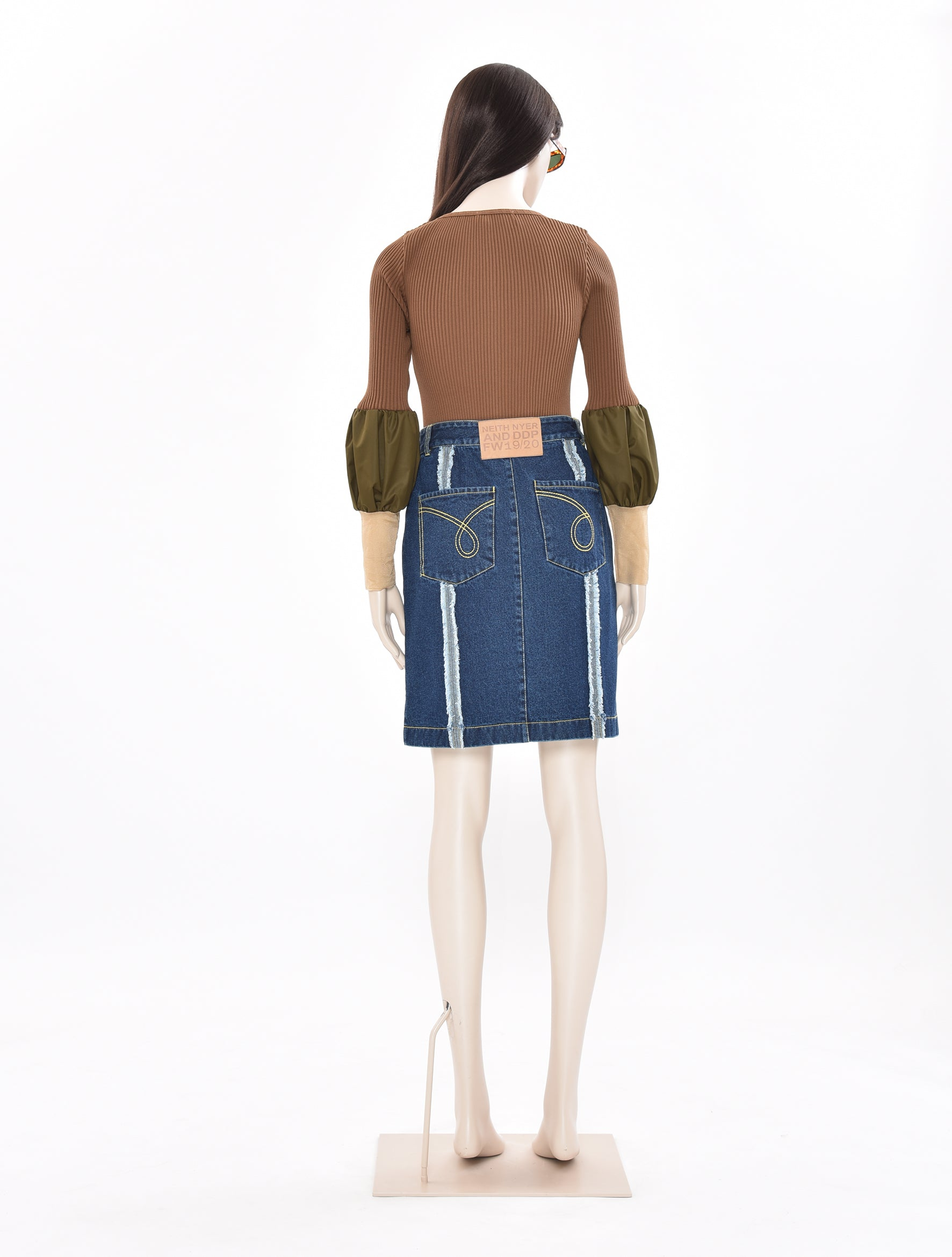 x  DDP Denim Skirt